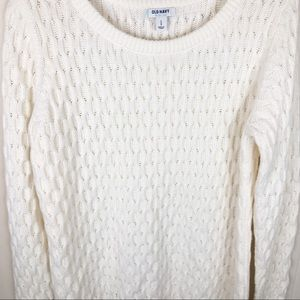 Unisex Old Navy Cozy Cable Knit Sweater